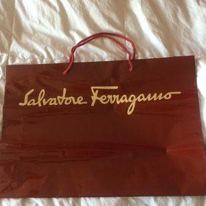 Salvatore Ferragamo shopping bag